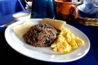 Gallo pinto, Costarican typical dish