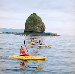 Ocean Kayaking in Costa Rica