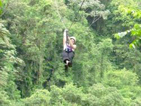 Canopy Tour del Pacifico