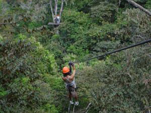 Montezuma Waterfall Canopy Tour Tour
