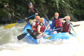Naranjo River Rafting Tour