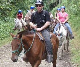 Horseback Riding to Monteverde